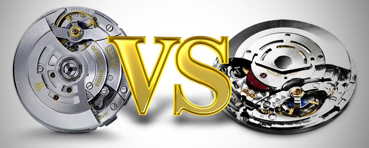 Rolex Caliber 3235 vs 3136 Movement