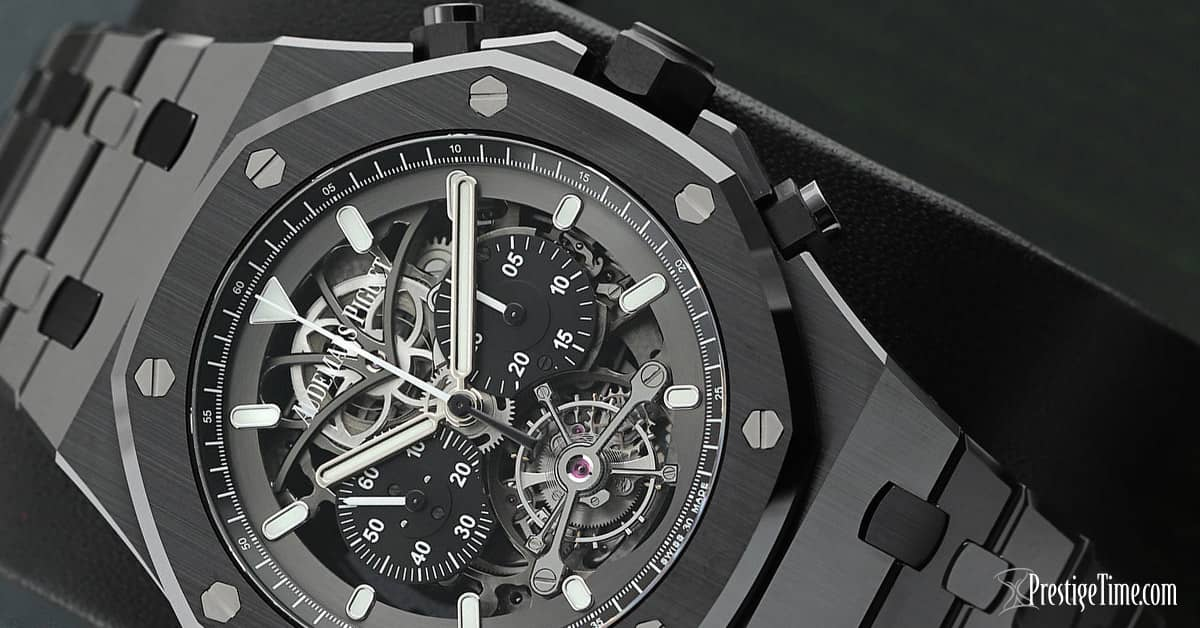 AP Royal Oak Tourbillon Chronograph Openworked Review