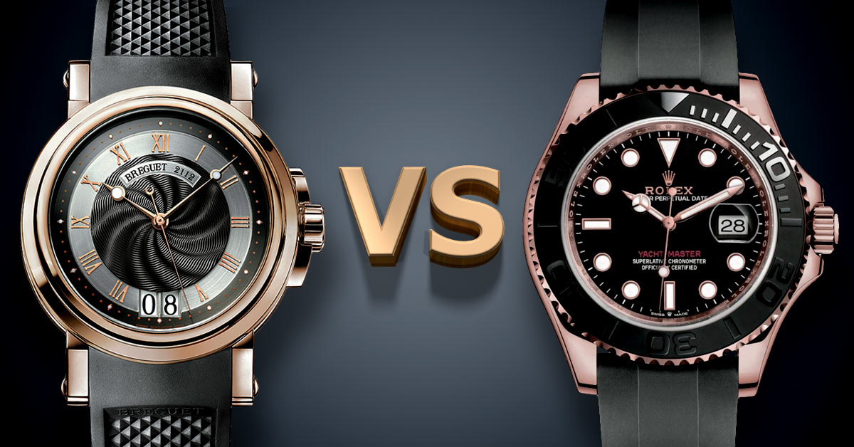 Breguet VS Rolex Watches: Which is Better?