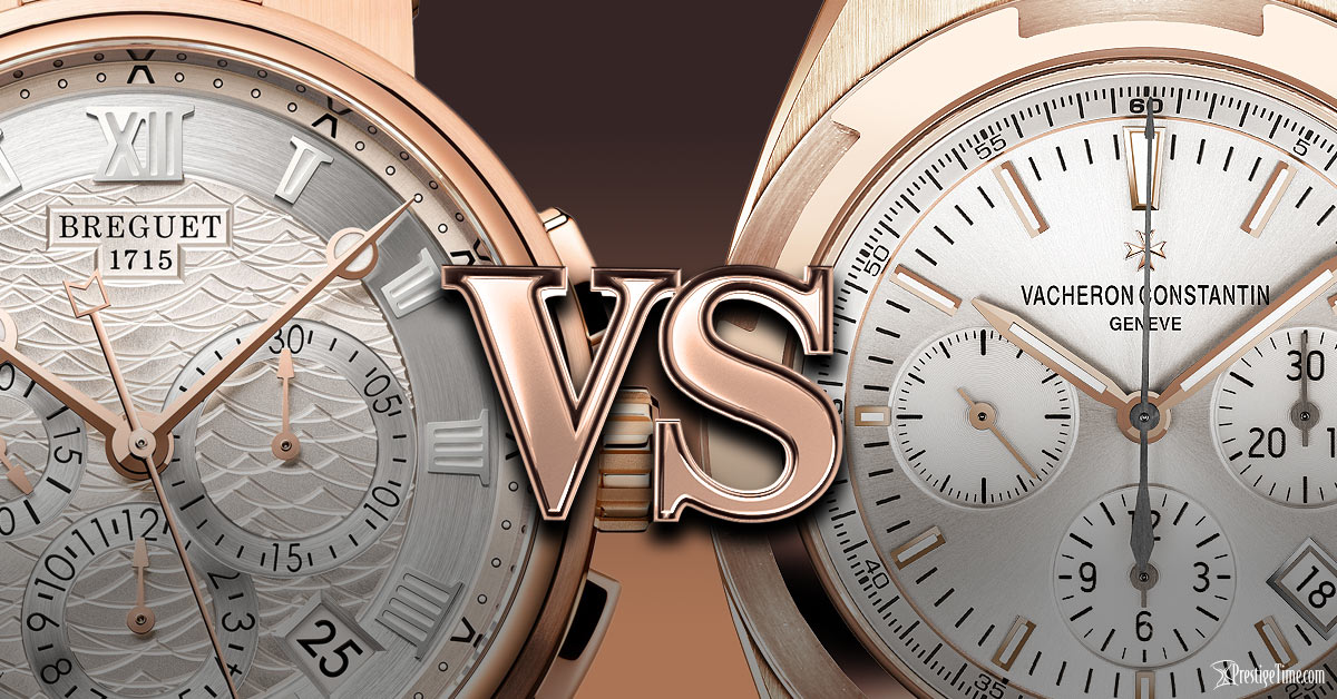 Vacheron VS Breguet Comparison