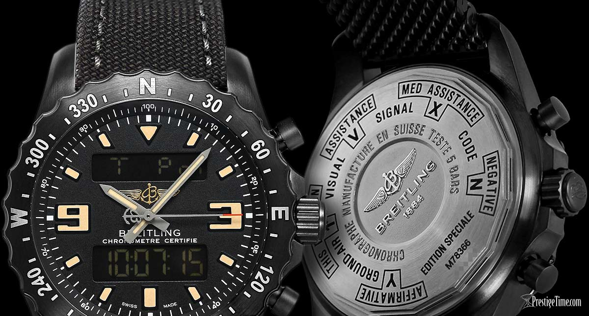 Breitling Chronospace Military Review