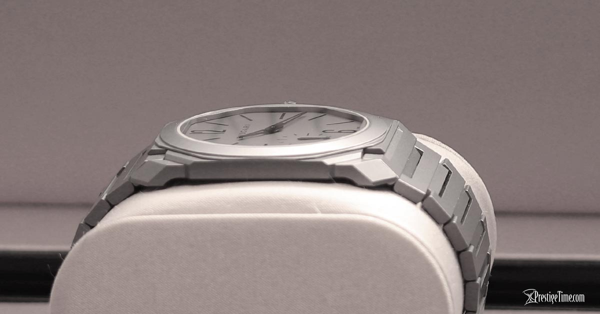 Bulgari Octo Finissimo Extra Thin 40mm case thickness review