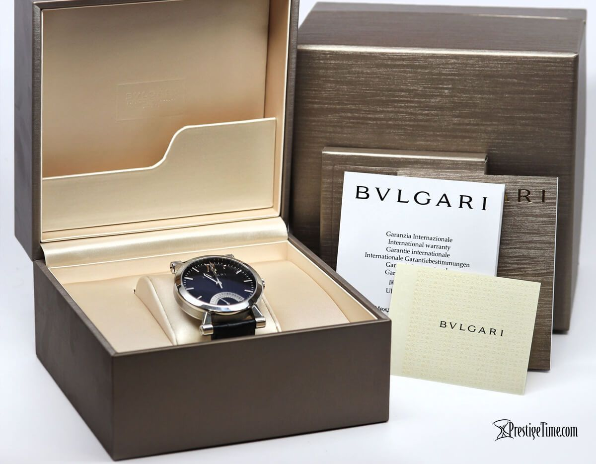 Bulgari Sotirio Bulgari Retrograde Date Packaging