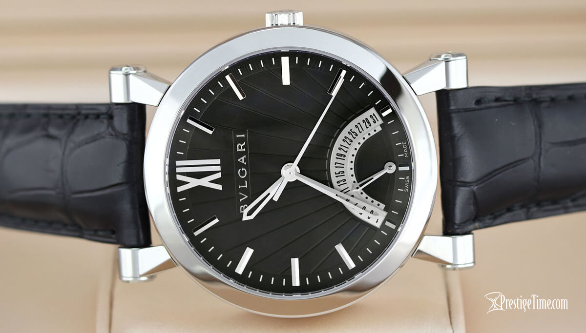 Bulgari Sotirio Bulgari Retrograde Date sb42bsldr 101706 Review
