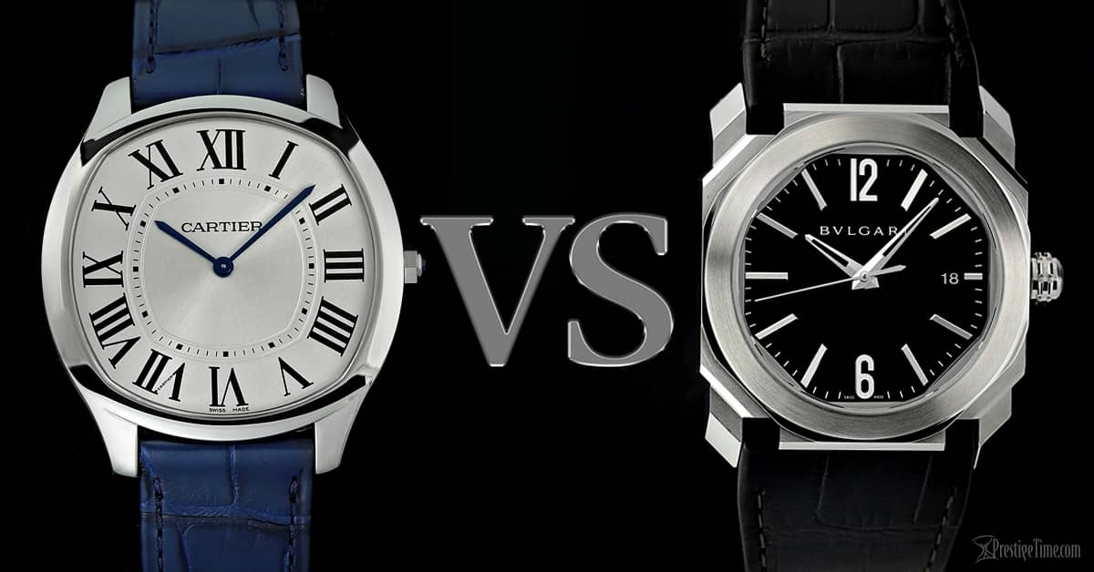 Cartier VS Bvlgari Watches: Which is the best?