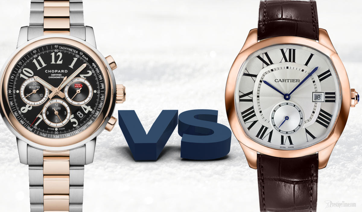 Chopard VS Cartier Watches