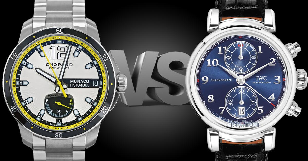 Chopard VS IWC:  Which is better?