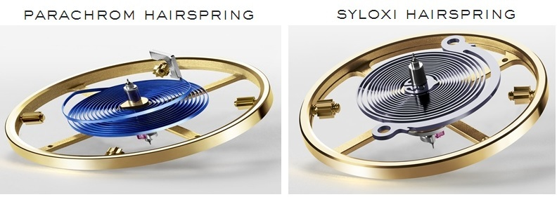 Comparison of Rolex Parachrom vs Syloxi Hairspring