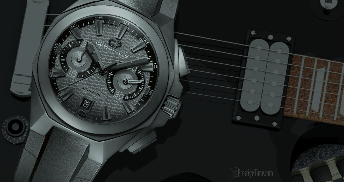 Girard Perregaux Chrono Hawk Shadow Edition