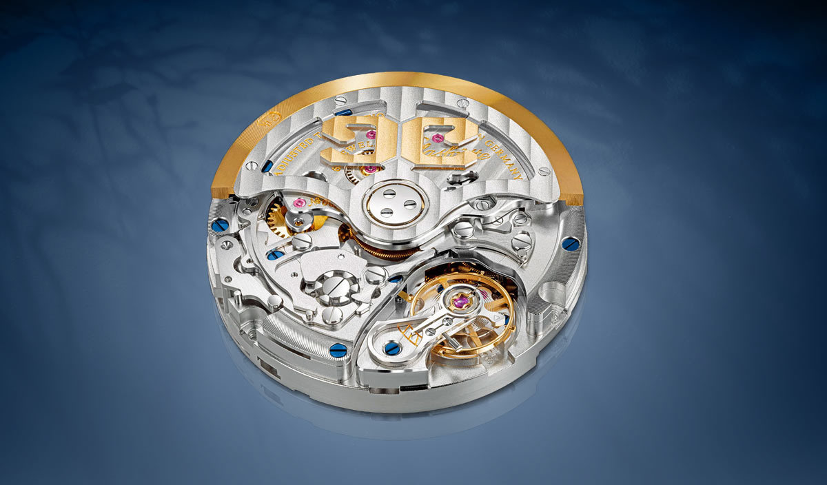 Glashutte Original Caliber 37 Movement