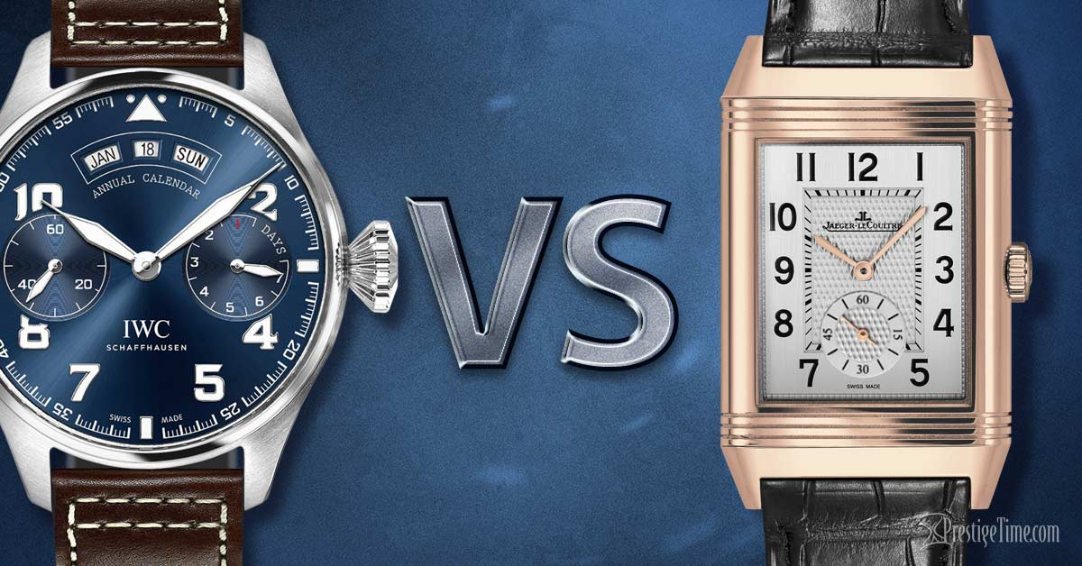 IWC VS Jaeger LeCoultre Watches | Which is Best?