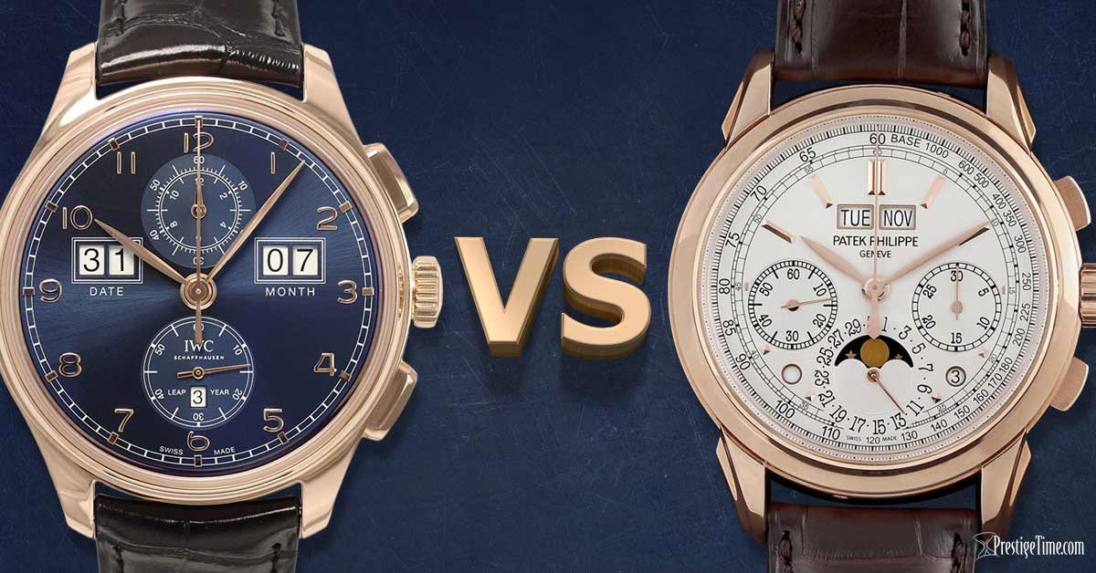 IWC VS Patek Philippe watches | Which is Best?