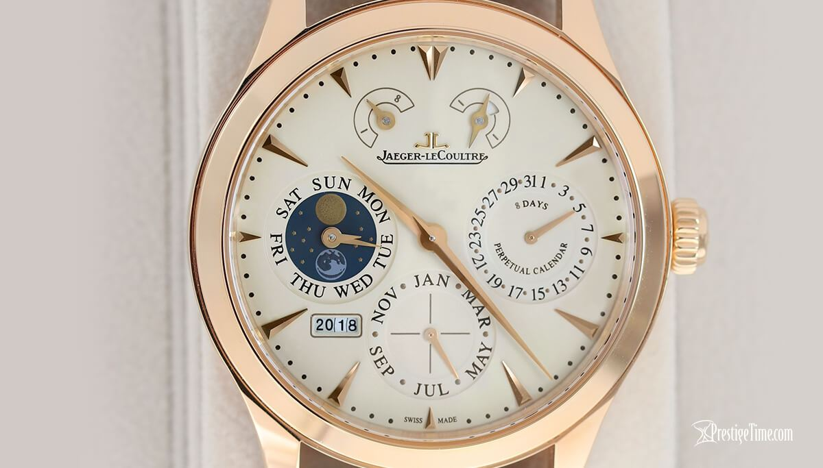 Jaeger LeCoultre Master Eight Days Perpetual Dial