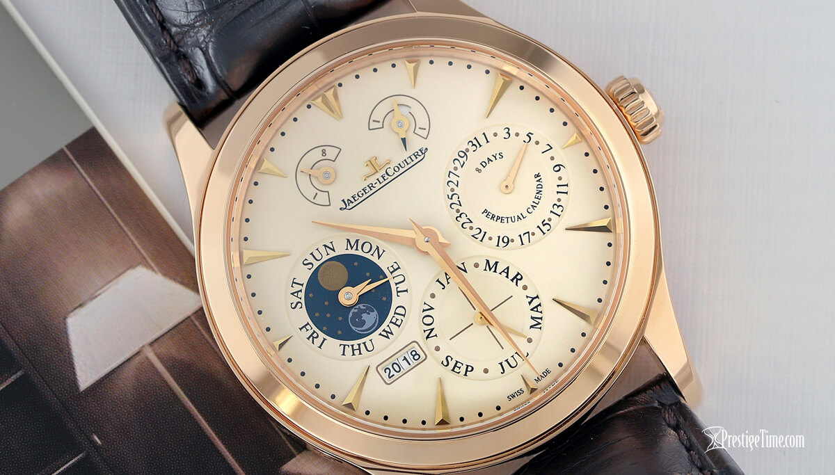 Jaeger LeCoultre Master Eight Days Perpetual Review
