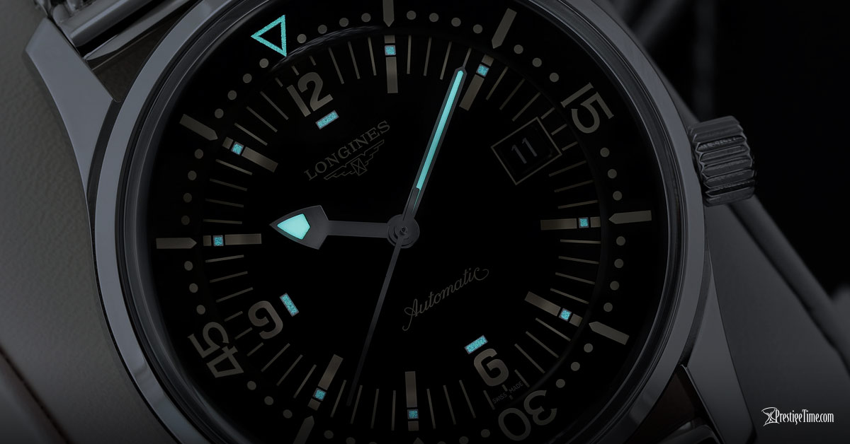 Longines Legend Diver Automatic Lume