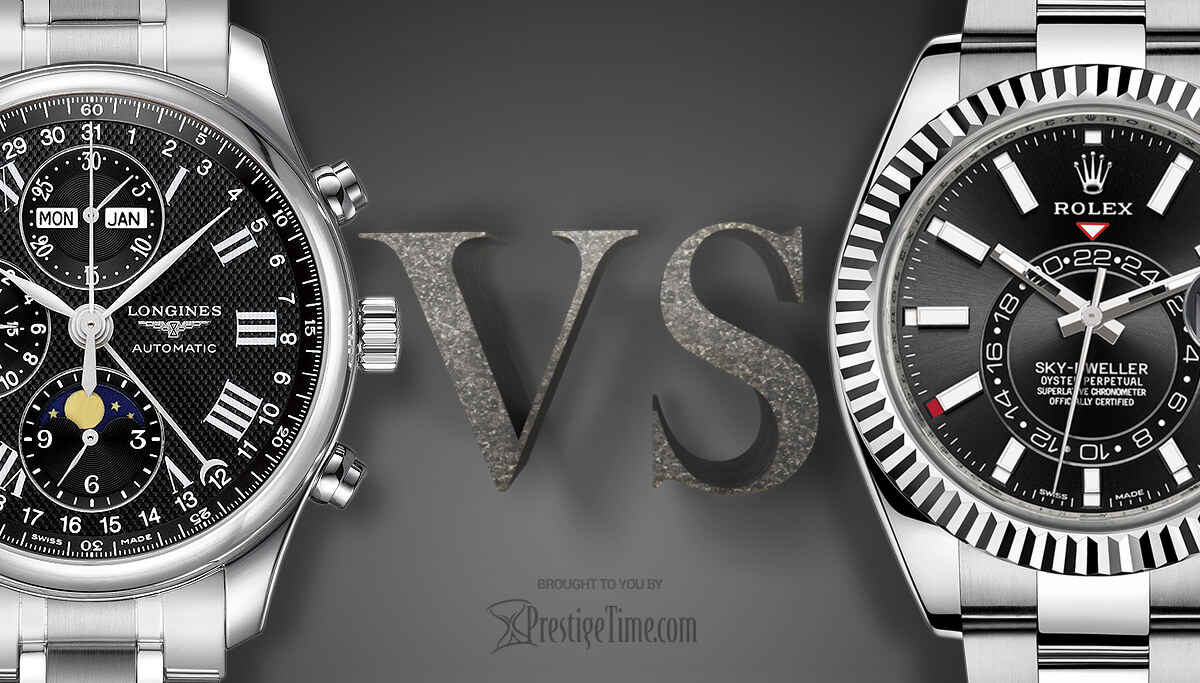 Rolex or Longines. Which hold value best?