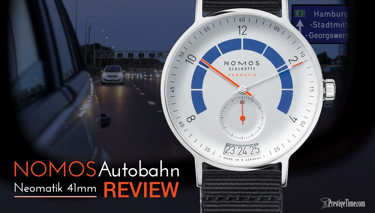 Nomos Glashutte Autobahn Review