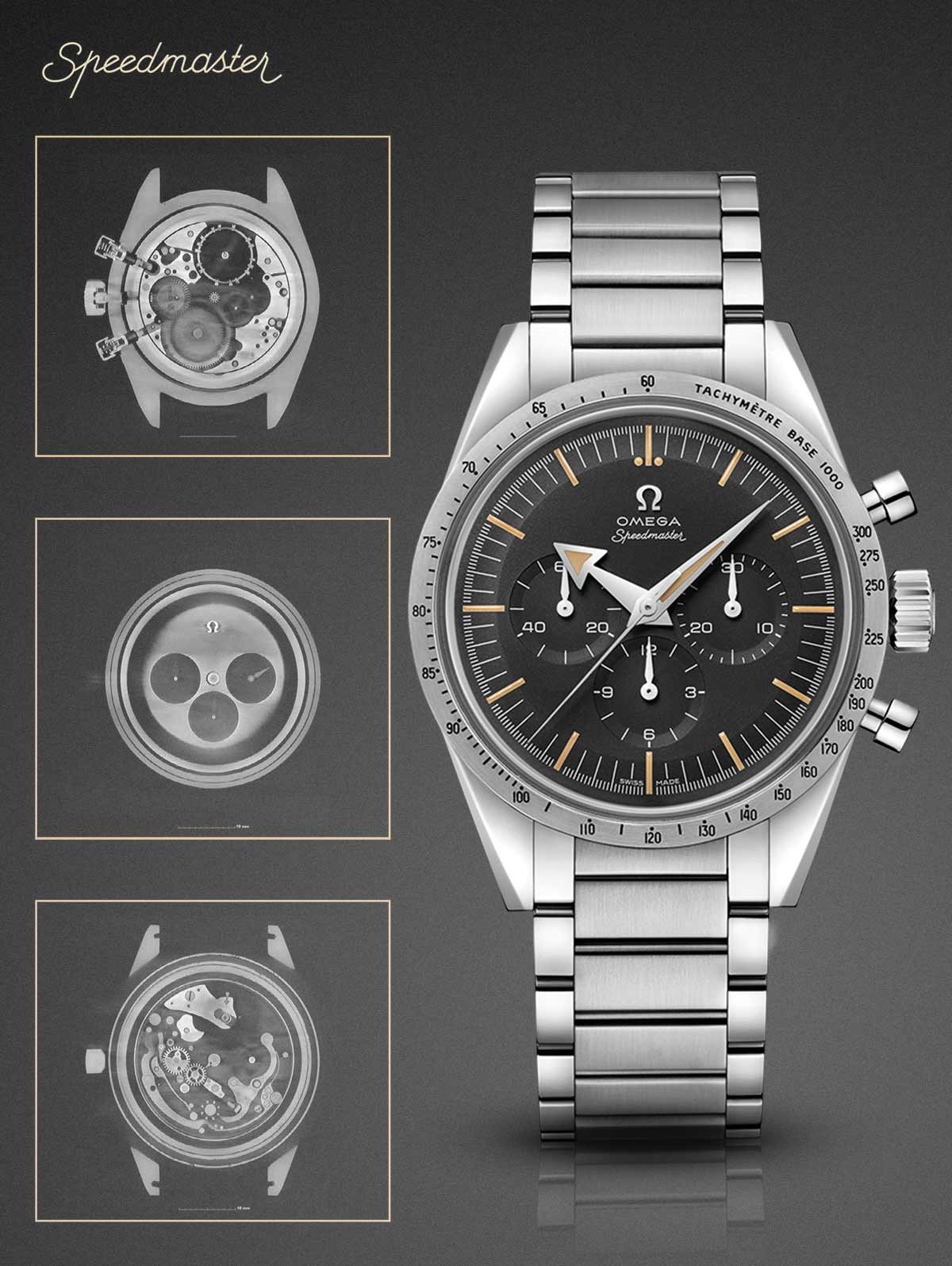 Omega 1957 Speedmaster x ray computer assisted tomography