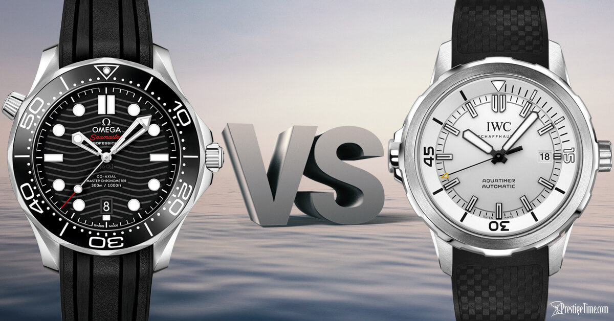 IWC Aquatimer VS Omega Seamaster Which is Best?