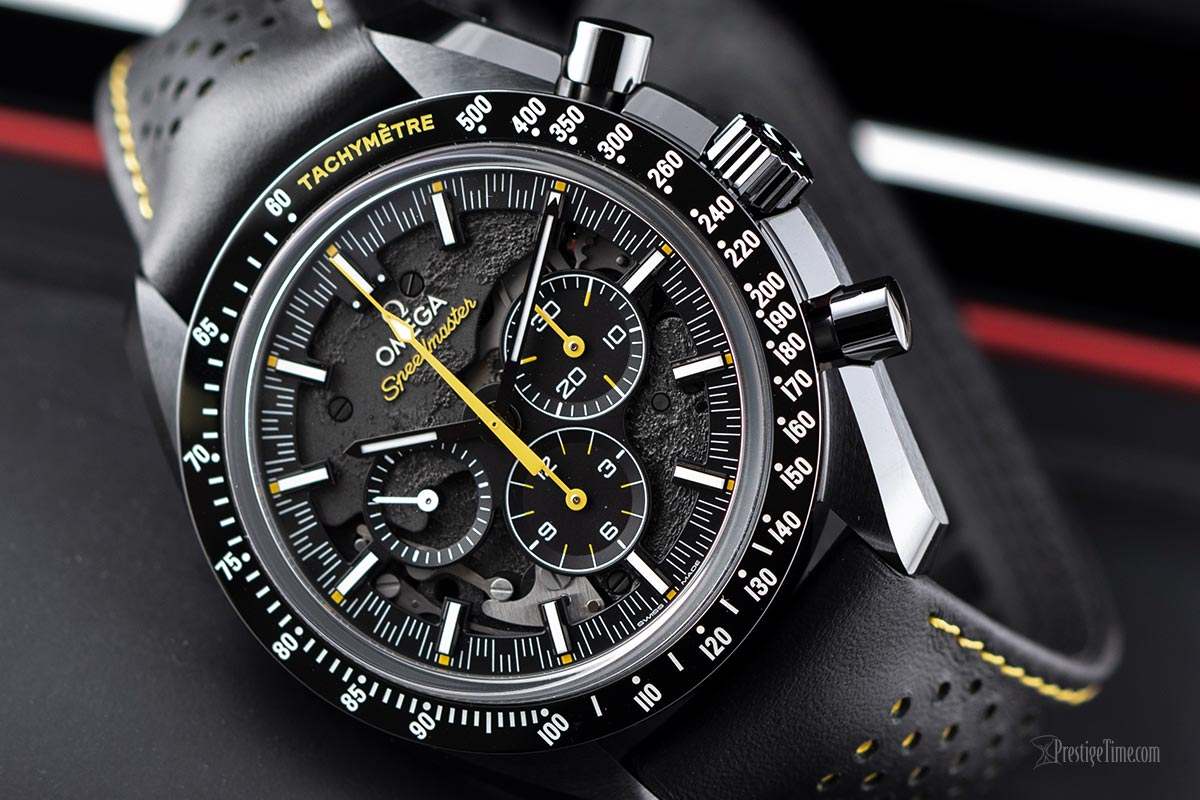 Omega Speedmaster Moonwatch Apollo 8 Review Dial