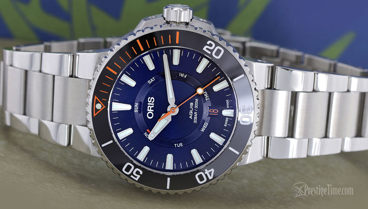 Oris Aquis Staghorn Restoration Limited Edition Review
