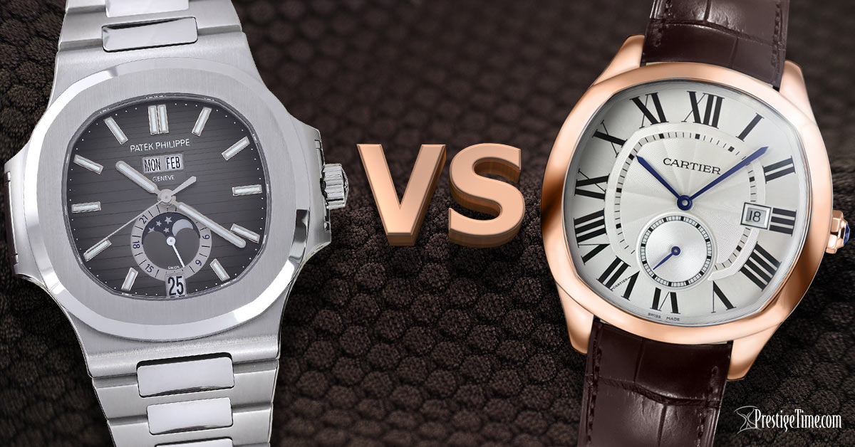 Patek Philippe VS Cartier - Which is best?