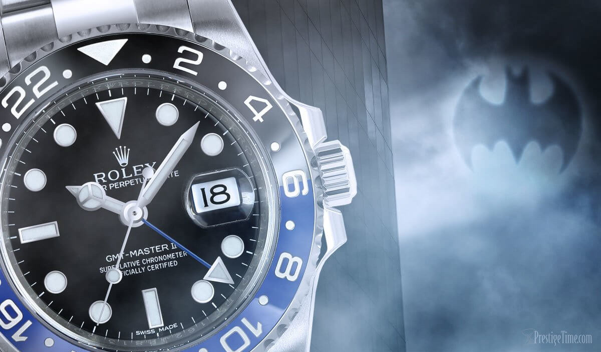 Batman Rolex GMT Master II