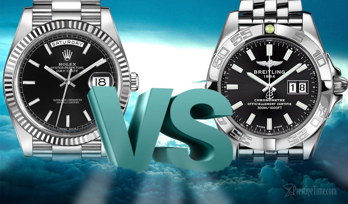 Breitling or Rolex. Which hold value best?