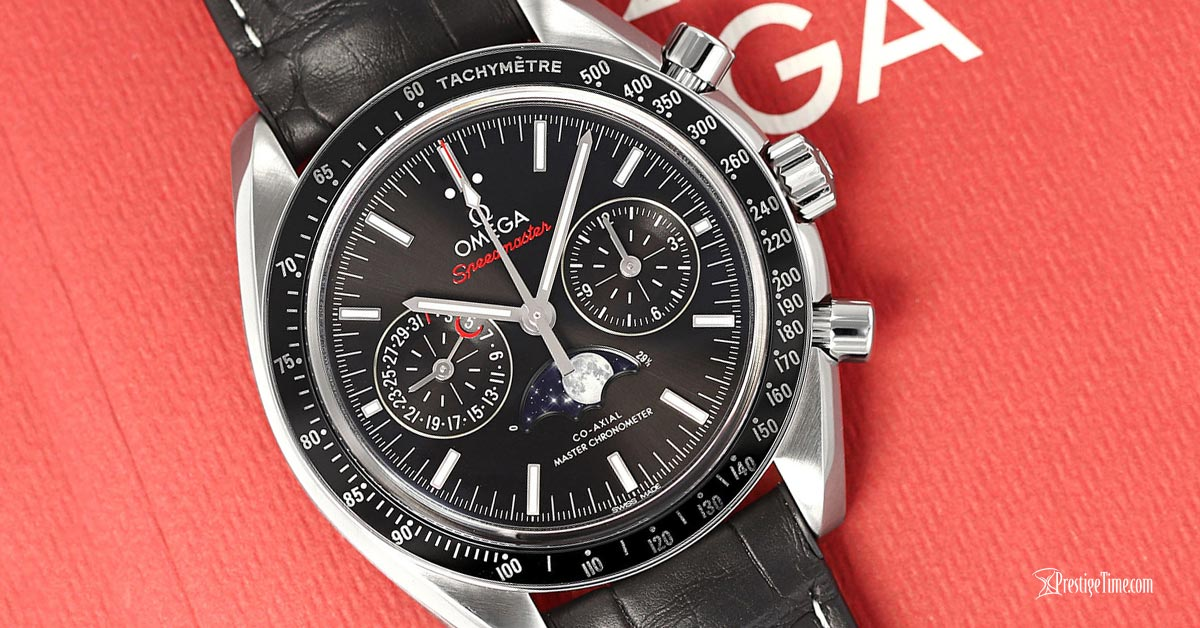 Speedmaster Moonphase Master Chronometer Chronograph Review
