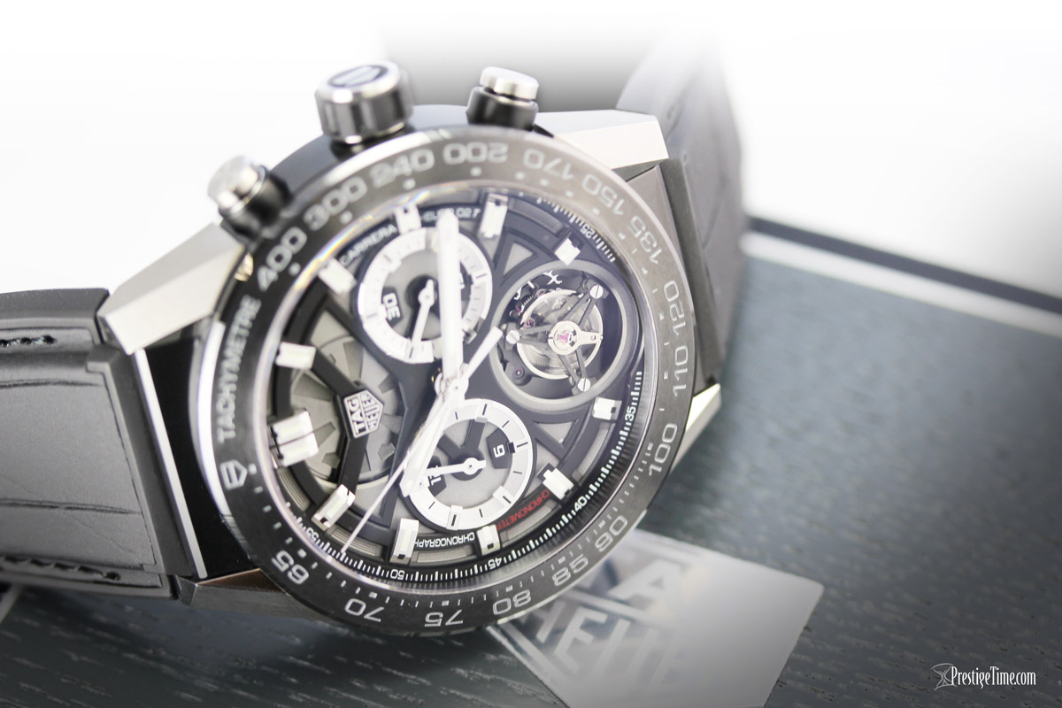 TAG Heuer Carrera Heuer 02T Tourbillon Complication