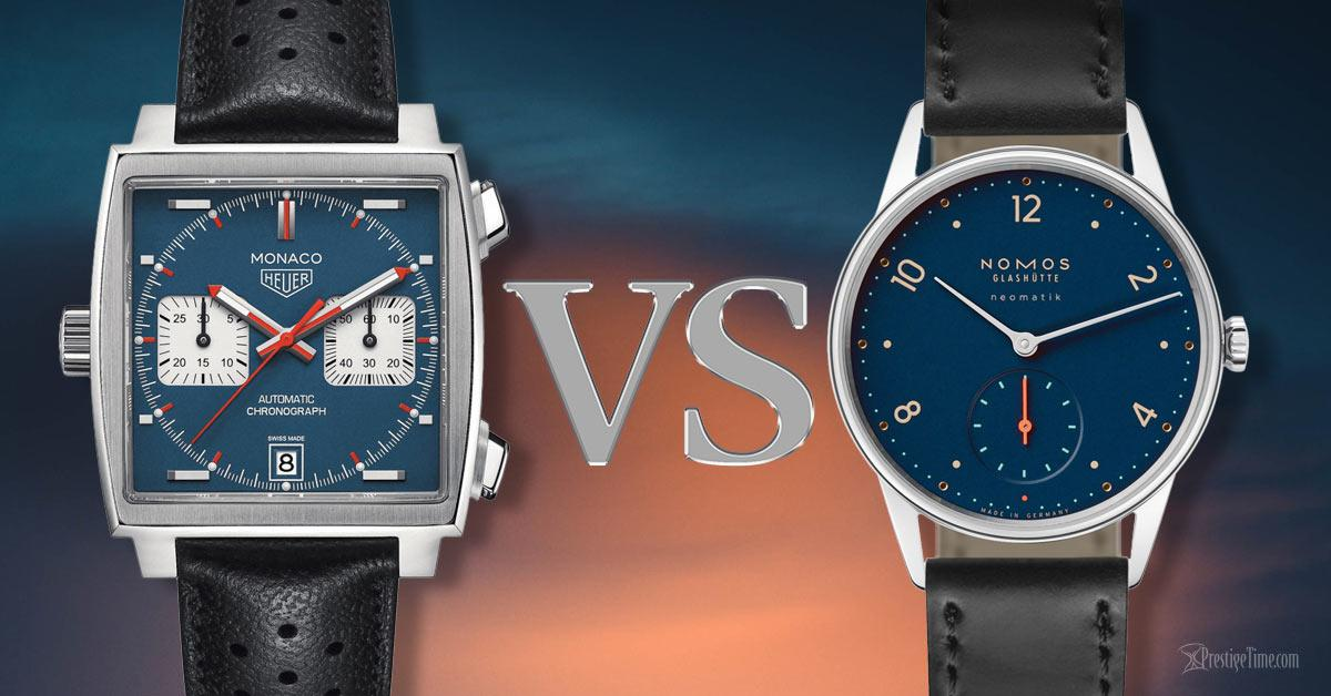 TAG Heuer VS NOMOS: Which is Best?