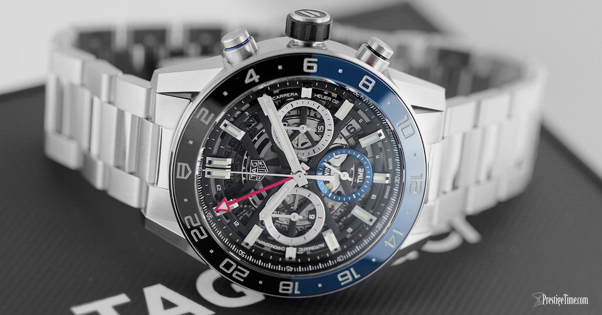 TAG Heuer Carrera Calibre Heuer 02 GMT 45mm Review