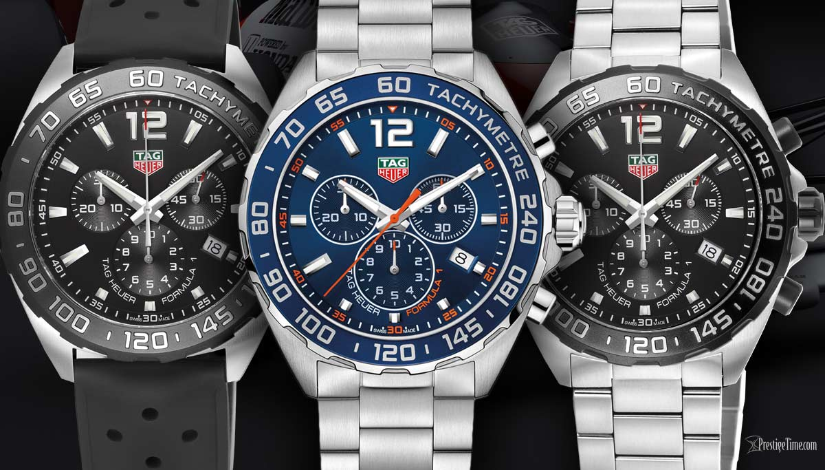Full Review of the 3 Most Popular TAG Heuer Watches for 2018