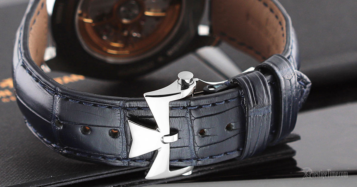 Vacheron Constantin FiftySix Review Leather Strap