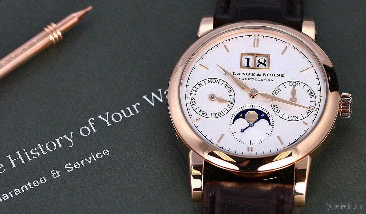 A. Lange & Sohne Saxonia Annual Calender
