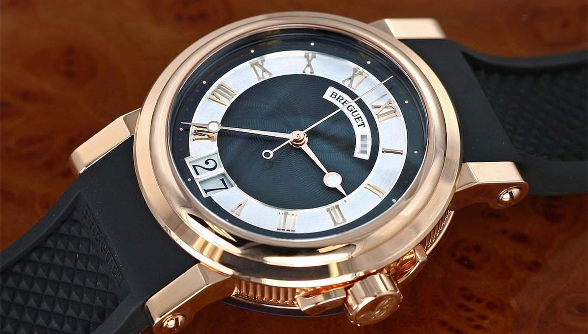 Breguet Marine 5817 Watch In 18kt Gold Review