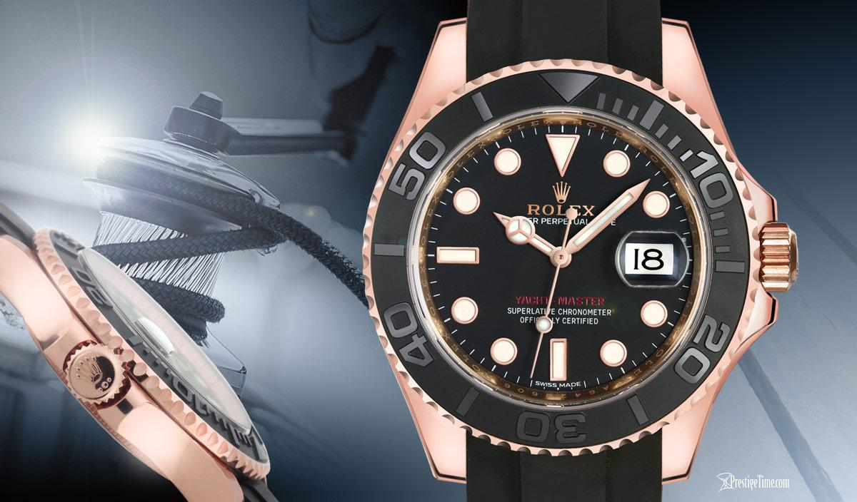 Rolex Yachtmaster 40mm in Rosegold