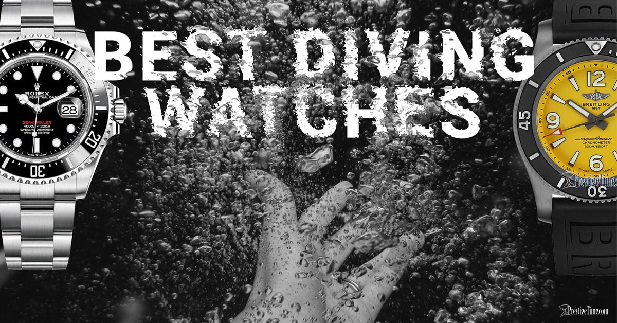 15 Best Diving Watches From Some Rock-Solid Brands
