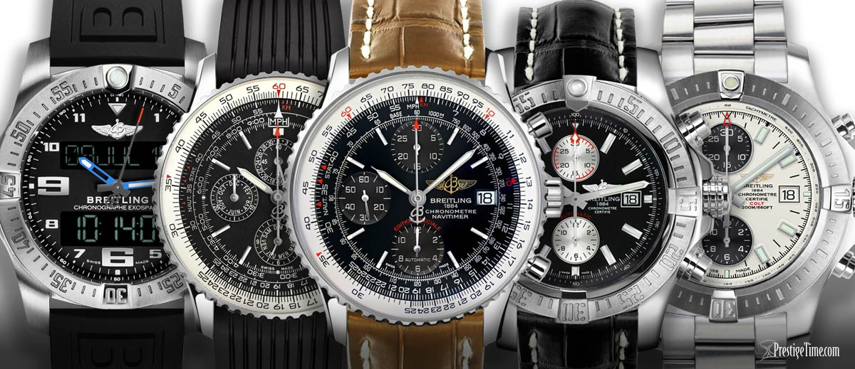 iconic breitling watches