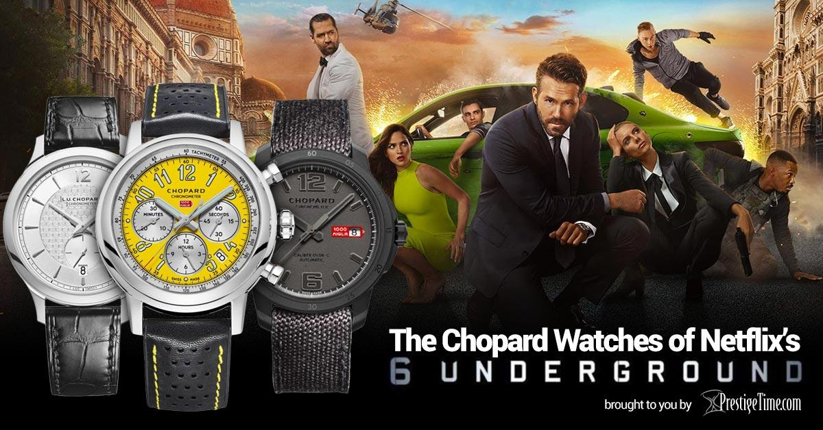 Chopard Watches in 6 Underground