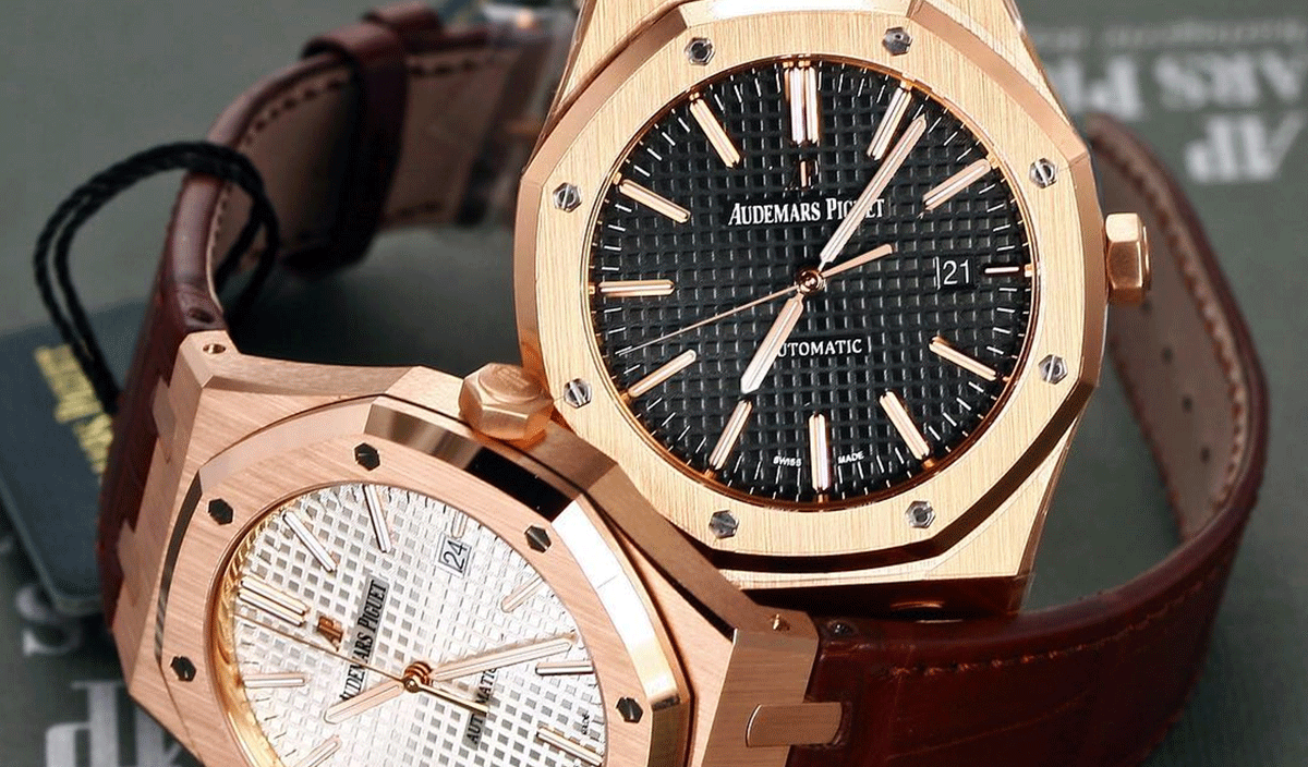 Audemars Piguet Royal Oak 41mm with Leather Strap
