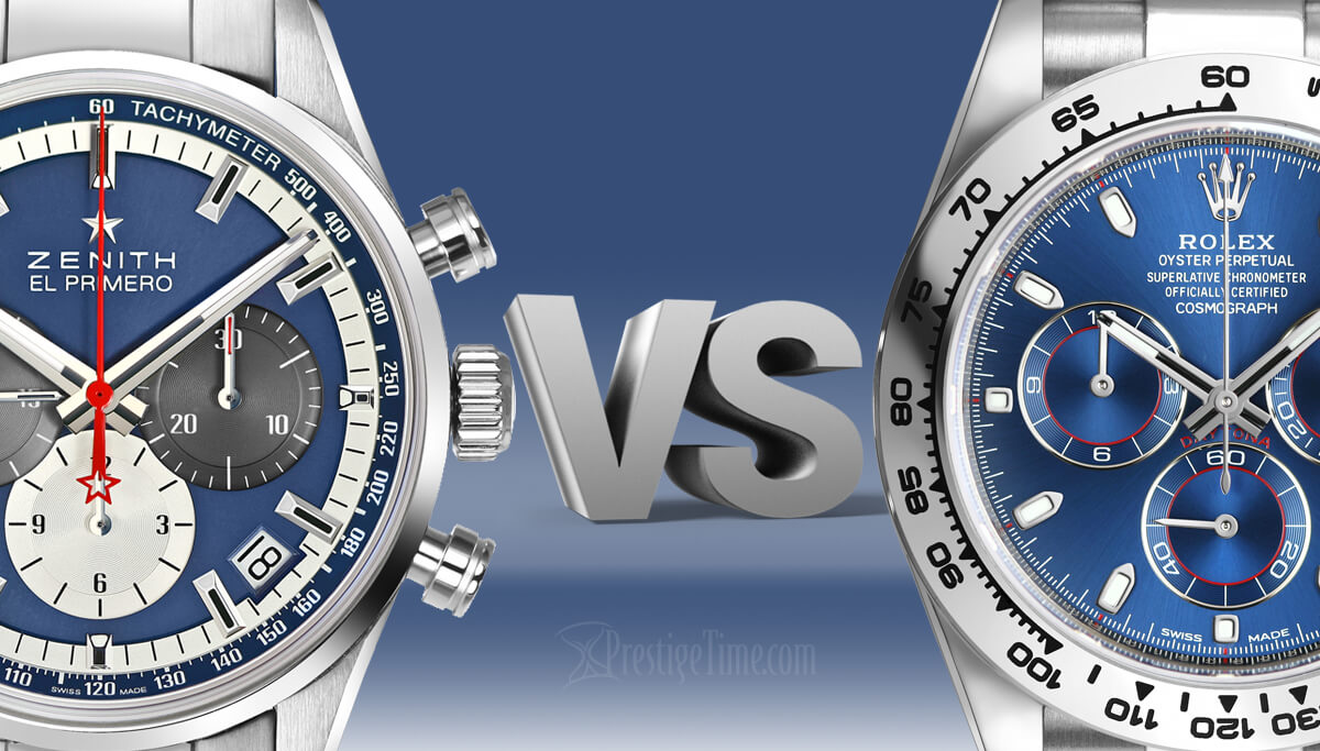 Zenith VS Rolex: Which is Best?