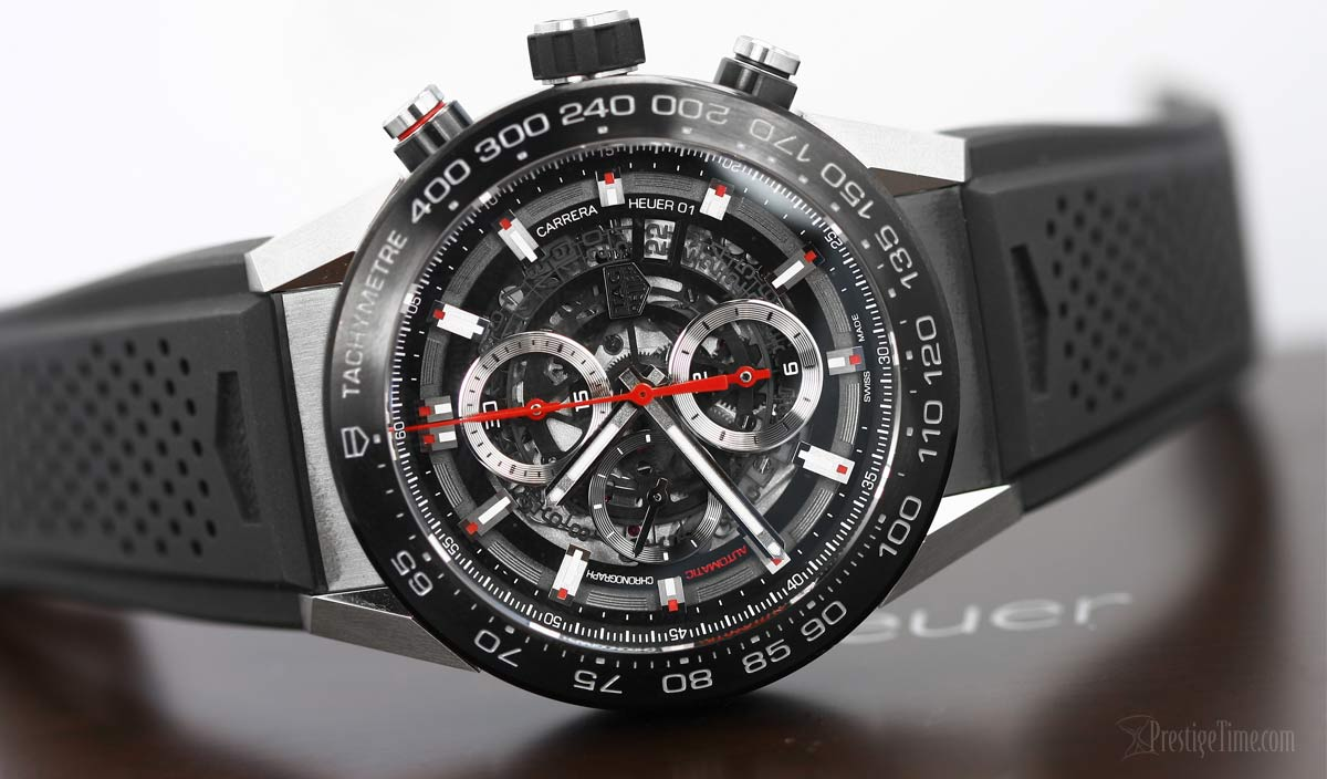 TAG Heuer Carrera Caliber Heuer 01 Skeleton Watch