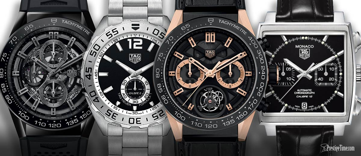 iconic tag heuer watches