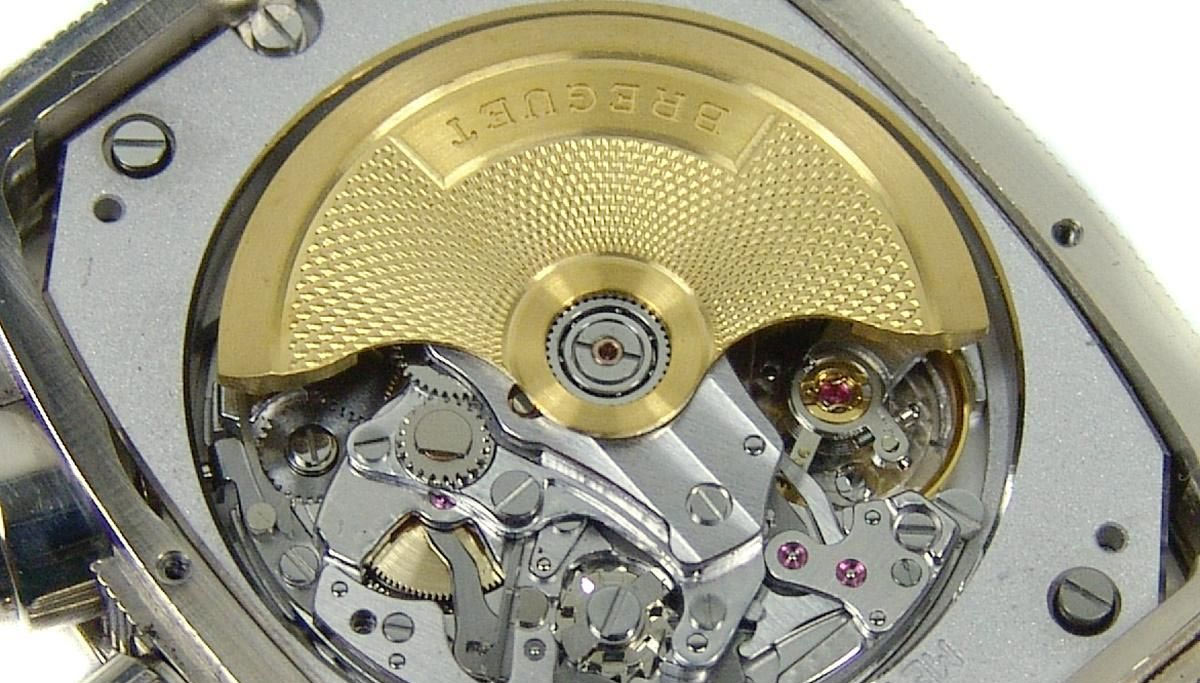 Breguet Caliber 550 yellow gold rotor