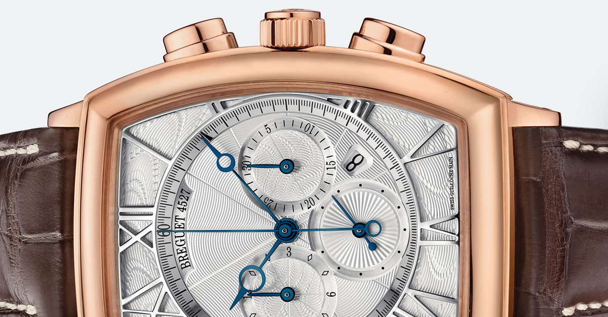 Heritage Chronograph Rose Gold